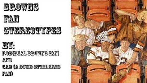 Thumbnail for entry Browns Fans, WSCN 2018