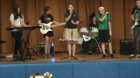 Thumbnail for entry Rock Bands perform at Community Gathering