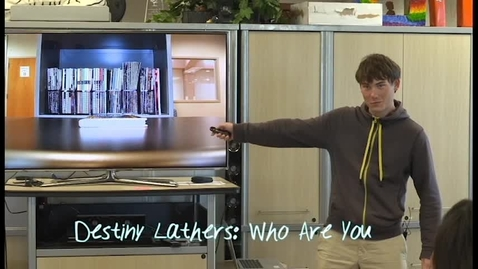 "Thumbnail for entry Jordan Matthews presents Destiny Lathers ""Who are You"""