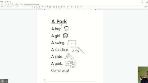Thumbnail for entry A Park-poem doc - Google Docs