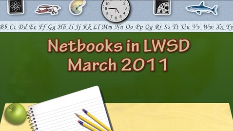 Thumbnail for entry Netbooks in LWSD 2011