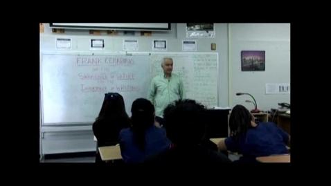 Thumbnail for entry Speakers Bureau: Frank Cerabino