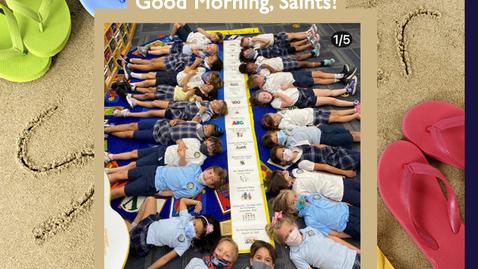 Thumbnail for entry Saints @ 8 - May 26, 2021