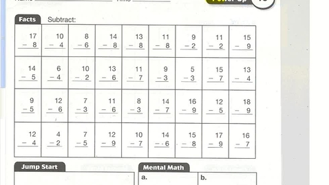 Thumbnail for entry Math lesson 78 (Multiplying Multiples of Ten)