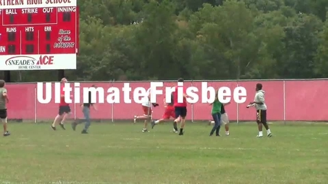 Thumbnail for entry Ultimate Frisbee Club