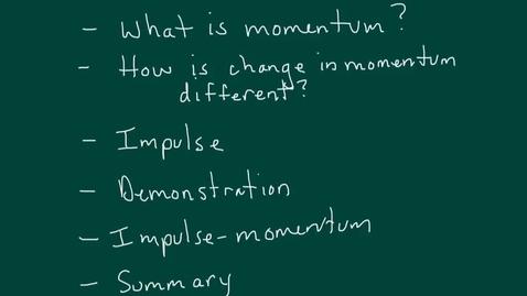 Thumbnail for entry Momentum