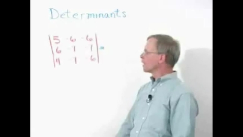 Thumbnail for entry Schiel & Denver School Series - Determinants