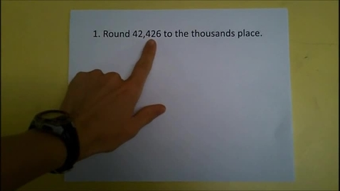 Thumbnail for entry Estimating Sums & Differences Quiz Corrections