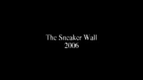 Thumbnail for entry Sneaker Wall
