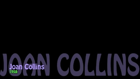 Thumbnail for entry Kay Stiverson as Joan Collins