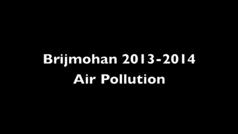 Thumbnail for entry Air Pollution