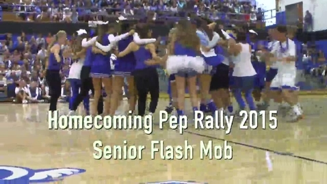 Thumbnail for entry Senior Homecoming Flash Mob