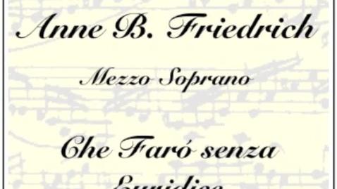 Thumbnail for entry Che Faro senza Euridice