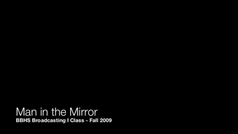 Thumbnail for entry Man in the Mirror Music Video