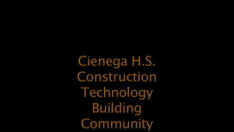 Thumbnail for entry Construction by Cienega