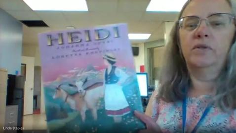Thumbnail for entry Heidi - Mrs. Staples.mp4