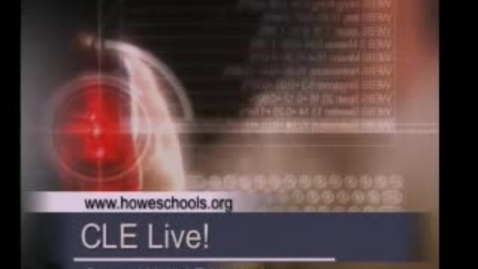 Thumbnail for entry CLE Live! (E2) Elementary Edition 11/20/08 Howe, OK