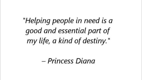 Thumbnail for entry Princess Diana