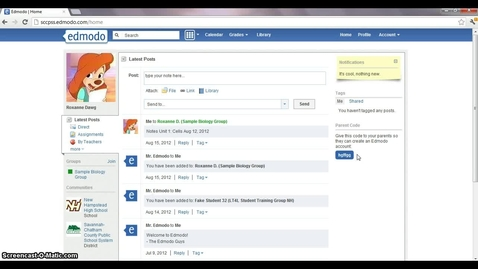 Thumbnail for entry Edmodo Parent Sign Up Tutorial