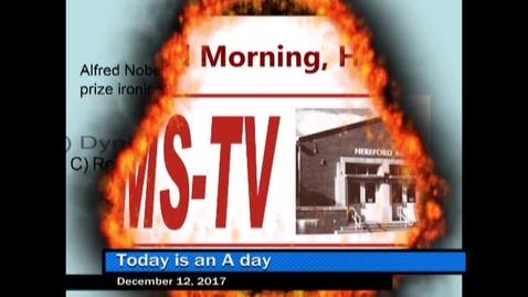Thumbnail for entry 12-12-17 WHMS Morning News