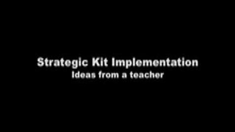 Thumbnail for entry Ideas for Strategic Kid