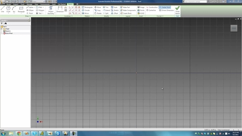 Thumbnail for entry Inventor: Tutorial 13 - Constraints Part 5