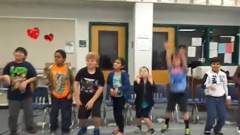 """Thumbnail for entry Ms. Ramage's 3rd grade class """"Russian Dance"""" from the Nutcracker by Thaikovsky"""