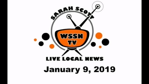 Thumbnail for entry WSSN News Jan 9, 2020