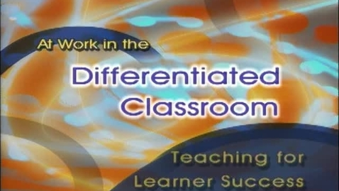 Thumbnail for entry Teaching For Learner Success