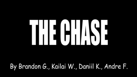 Thumbnail for entry The Chase by Brandon Gesli