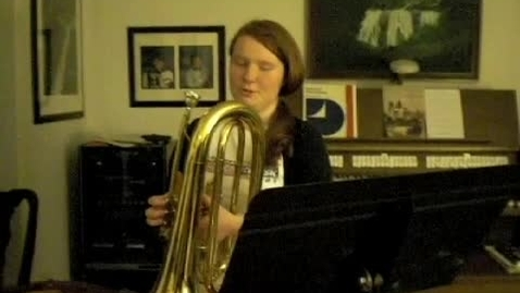 Thumbnail for entry Correct video- Madeline Brissette Solo Audition