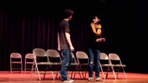 Thumbnail for entry Knife Scene Performed by Looking In Theatre