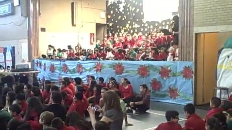 Thumbnail for entry 4th of 4 clips-2013)St Agnes of Bohemia School, Chicago-All Grades-Song & Thanks to Teachers
