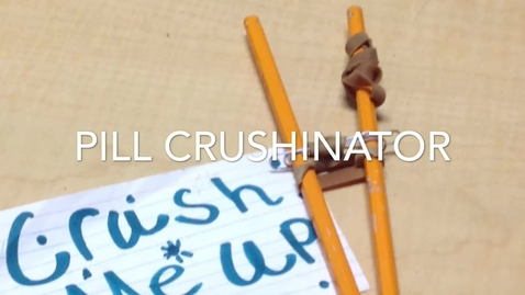 Thumbnail for entry Pill crushinator