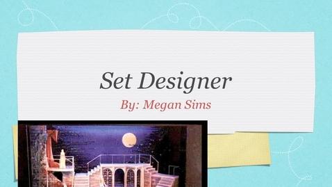Thumbnail for entry Set Designer