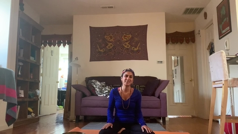Thumbnail for entry Yoga Class with T.Sheena Week1