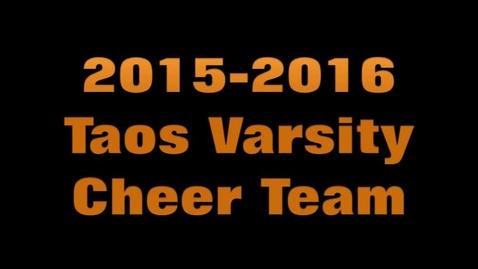 Thumbnail for entry Taos High School Cheer 2015-2016