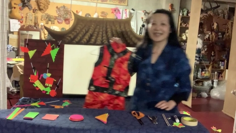 Thumbnail for entry 4thGr Chinese ShadowPuppet Theater T.HuaHua Lesson 5