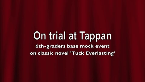 Thumbnail for entry On Trial at Tappan