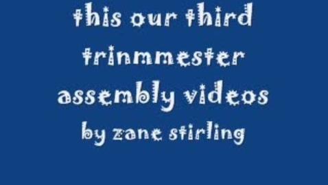 Thumbnail for entry Zane's Video
