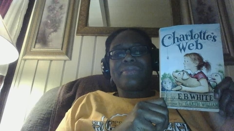 Thumbnail for entry Cheri Goosby-Video Recording - Thu Apr 30 2020 Charlotte's Web