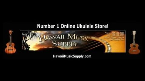 Thumbnail for entry Free Ukulele Lessons - Hawaiian Vamp Chord Progression
