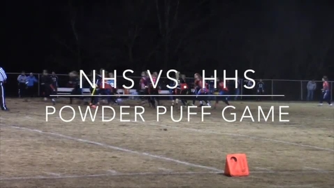 Thumbnail for entry Powderpuff vs. Huntingtown