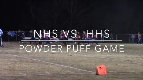 Thumbnail for entry Powderpuff vs. Huntingtown