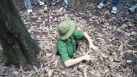 Thumbnail for entry Vietnam Hiding Hole