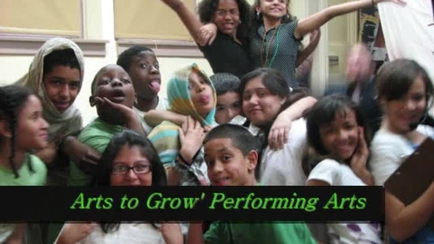 Thumbnail for entry ATG Students on Arts to Grow