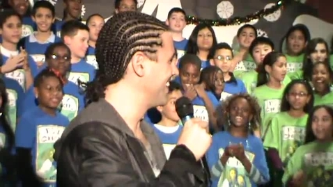 Thumbnail for entry Anne Hathaway Gives PS22 Chorus an OSCAR Surprise!!