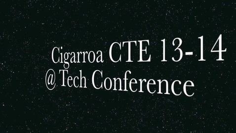 Thumbnail for entry LISD CTE students attend Tech Expo 2014