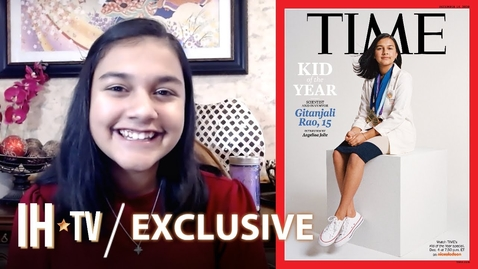 Thumbnail for entry Gitanjali Rao Is TIME's Kid of the Year | Nickelodeon's Kid of the Year TV Special