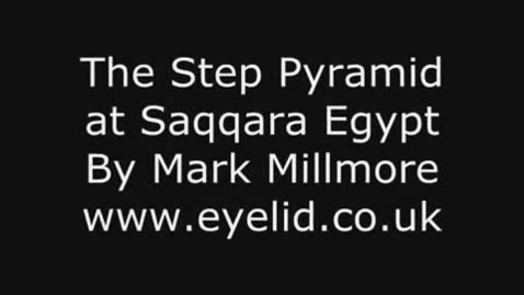 Thumbnail for entry The Step Pyramid